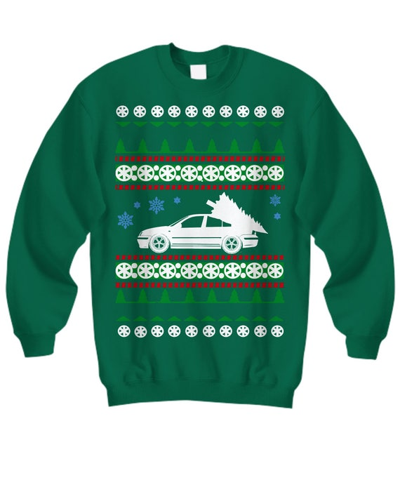 VW Jetta mk4 1.8t vr6 tdi gift Ugly Christmas Sweater Holiday