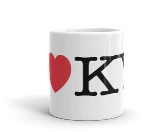 I Heart KY Love Kentucky Mug