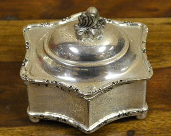Nice Silver Plated Jewelry Box