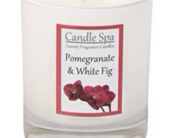 20cl (120g) candle - Pomegranate & White Fig