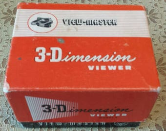 View-Master 3-Demension Model E viewer made by Sawyer's Inc. from Portland, OR in 1955