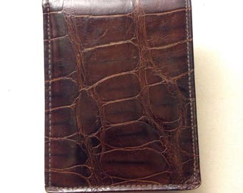 Wallet-Alligator Vintage