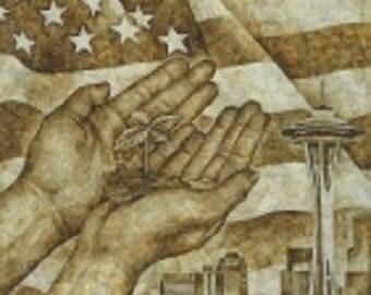 Chronic Art Poster from Seattle HEMPFEST®