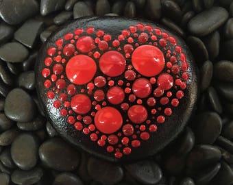 Art Rocks!  #9/18 Heart TouchStone™