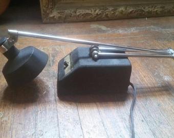 Vintage Black Mobilite Lamp