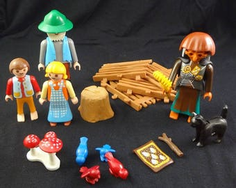 Playmobil, #4212, Hansel and Gretel, Fairy Tale, Storybook Witch, Playmobil Witch, Playmobile