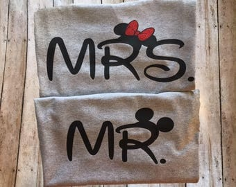 Disney Couple Shirt -  LONG SLEEVE UpGRADE  Add on listing