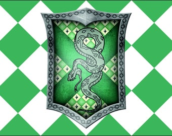 Harry Potter Flag | Slytherin Landscape | 3x5 ft / 90x150 cm