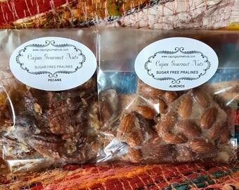 SUGAR FREE Pecan or Almond Pralines Keto Low Carb Diabetic