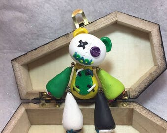 """Hand sculpted polymer clay """"stuffy"""""""