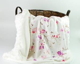 Girl Baby Blankets  - Personalized girl baby blankets