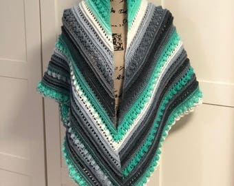 Large Secret Paths Shawl