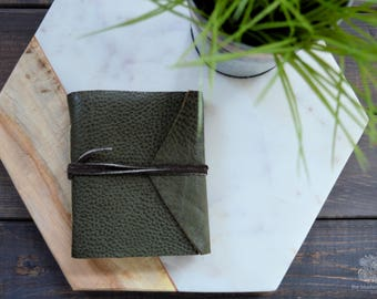Genuine Leather Journal | Green