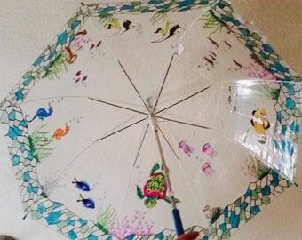 Umbrella - seabed