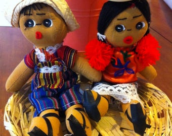 Mexican Traditional doll (and Central America)
