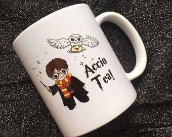 "Central 23 Harry Potter Mug ""Accio Tea!"""