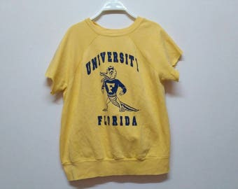 Sale % Rare University of Florida Gators Sweatshirt Cut Off