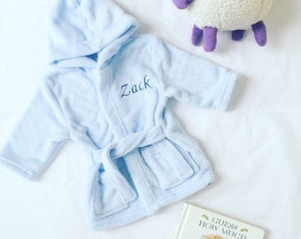 Personalised Baby/Child Bathrobe (up to 6 years)