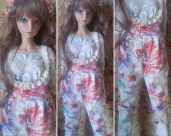 Overalls for Feeple60 / SD (floral)