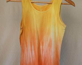 Girls Size 14 Singlet - Beach - Festival - Ready To Ship - Tie Dyed - Fashion - 100% Cotton - FREE SHIPPING within AUS