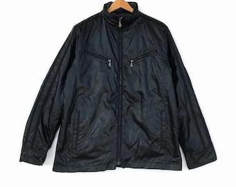Kansai Jeans Jacket Black Colour Light Jacket Large Size Light Jacket Vintage 90's