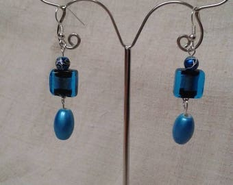 """Earrings """"Blue Ocean"""""""