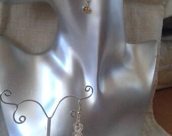 """Earrings """"trio of hearts"""""""
