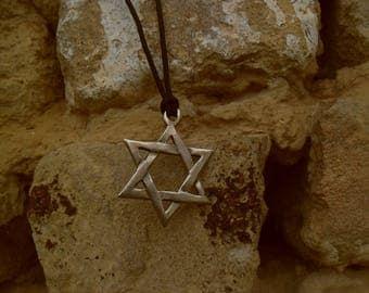 The Star of David,Shield of David ,Judaism symbol necklace pendant