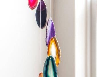 Agate chimes Gemstone Crystal Home Decoration