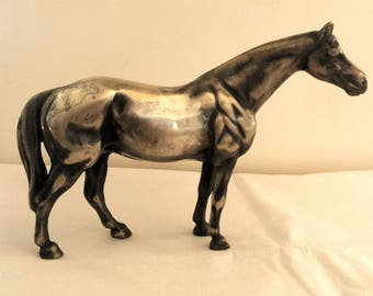VINTAGE HORSE, Nickle Plated