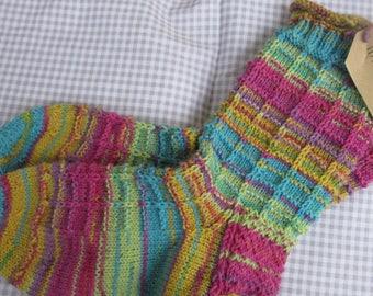 Hand Knitted socks Gr. 36-38