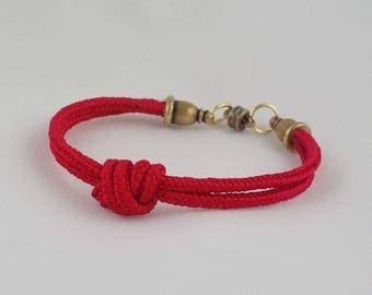 Red Knot Bracelet