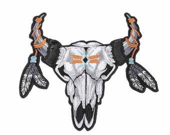 Buffalo skull XL