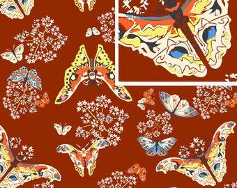 Fabric patchwork ALCHEMY AMY BUTLER - ROWAN FABRICS QUEEN ANN's BUTTERFLIES
