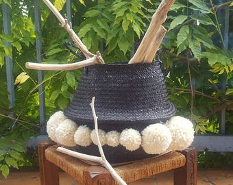 Black Thai basket