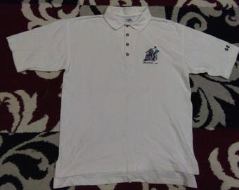 vintage hawaii CRAZY SHIRT POLOS size small made in usa