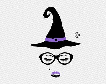 witch eye lashes make up SVG Clipart Cut Files Silhouette Cameo Svg for Cricut and Vinyl File cutting Digital cuts file DXF Png Pdf Eps