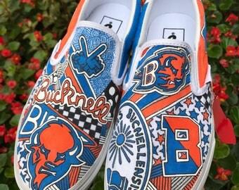 Bucknell University Custom Sneakers