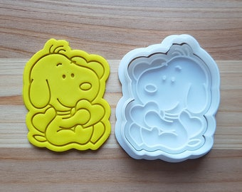 Baby Snoopy Cookie Cutter and Stamp