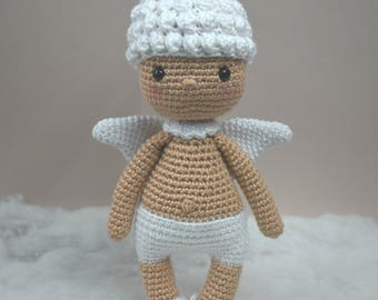 Angel crochet doll