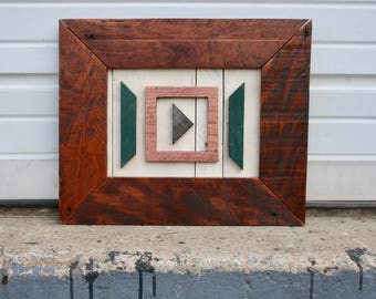 """Pallet Wood Art- """"Caught In The Middle"""""""