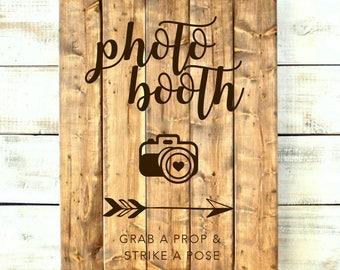 Wedding Reception Sign / Photo Booth Sign / Photo Booth Wedding Sign / Photo Booth Sign SVG / Photo Booth / Wedding Sign / Cricut SVG File