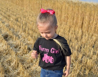 Toddler farm girl shirts