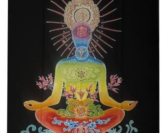 Rainbow Chakra ~ Meditating Being