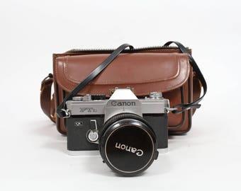 Canon FTb Package, Canon, Film Camera, Canon FTb, Leather Case