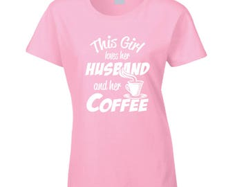 Husband And Coffee T Shirt