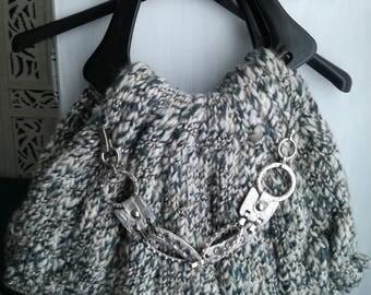 Hand made woolen bag