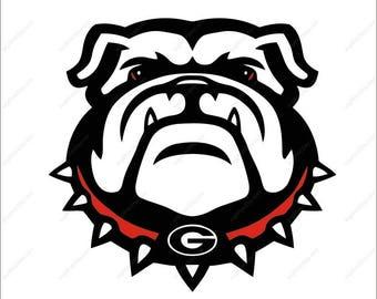 Georgia Bulldogs svg  party svg Dxf Eps Png Ai Digital File design Print Mug Shirt Decal