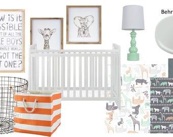 E-Design: Nursery