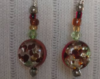 Colors of autumn earrings